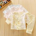 100% orgânica algodãopersonalizado design branco roupa do bebê