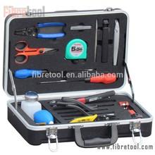 DW-10 21 Pieces Fiber Optic Fusion Splicing Tool Kit/ Fusion Splicing Tool Box