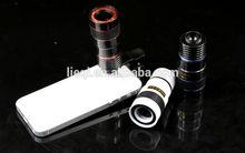 Mini 8X telescope for mobile phone LQ-007 telescope camera universal telescope for mobile phone ip camera lens