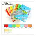 gsm 80 a4 color de impresión de papel de copia