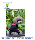 Lovoyager 2014 hot selling pet clothes 100% cotton dog hoody with panty