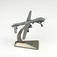 Unmanned aerial vehicle General Atomics MQ-1 Predator UAV model 1:72 small diecast toys