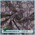 Melhor design tecido personalizado impresso moda camisa de algodão tecido