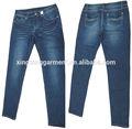 profesional fabricante de pantalones vaqueros en guangzhou venta caliente la mujer pantalones vaqueros pantalones