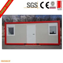 Australia standard 20ft granny flat pack container house for living house or office