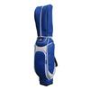 New Design Blue Unique Top Quality PU Leather Golf Bag