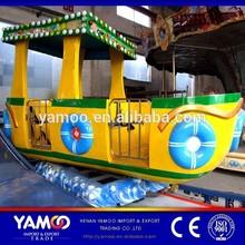 Popular Amusement Park Rides Era Spin Boat / Slide Boat, Track Rides for Sale
