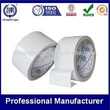 White Double Sided Tape Waterproof Tissue Paper Hotmelt /Acrylic Adhesive