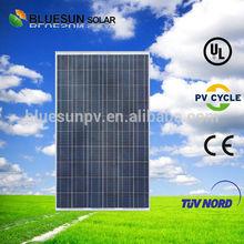 Bluesun made 240 watt photovoltaic solar panel