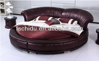 High Grade king size round bed on sale