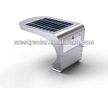 hf solaire alimenté de mouvement sans fil capteur de lumière pour escalier