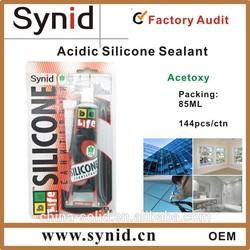 Acetoxy GP Silicone Sealant 85g