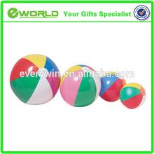 Top cheap custom logo wholesale beach ball branded plastic toy ball