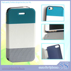 customized flip mobile phone leather case for iphone 5/5S