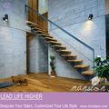 acero madera stringer pasos la estructura de las escaleras de acero