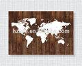 personalizado de impressão mapa para decoração wall mapas do mundo