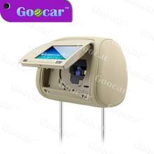 7 inch black Car CD DVD Player car headrest monitor with 32 bit games