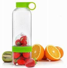 Juice Bottle plastic juice bottle fruit infuser water bottle