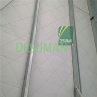thermal insulation material Glass wool aluminum cladding pipe cover