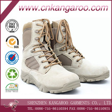Hot sale cheap military boot with swede zip design/ army boots &desert boots for men