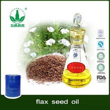 factory direct sale organic ,high quality Flax Seed Oil