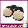 ICTI and Sedex audit new design EN71 2014 kids winter slippers with monkey head
