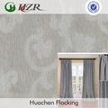 damasco estilo floral jacquard prova de água tecido de poliéster para retardante de fogo tecido de parede