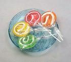 Big Hand-made Sweet Flat Lollipop Candy