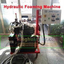 solar water heater hydraulic foaming machine