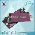 Color digital tela do telefone móvel para o iphone 5 lcd digitador