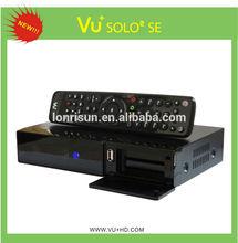 2014 Vu+ solo2 Twin Tuner Decoder Linux HD Vu Solo 2 1300 MHz CPU DVB-S2 Twin Digital Satellite Receiver Vu Solo2 Samsat HD