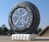 tire balloon, giant inflatable tire,advertising balloon Y3005