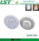 Gx53 Led Cabinet Light 5W LED Gx53 Lamp 100-240V Input High Brightness SMD5730 Bulb Led Gx53