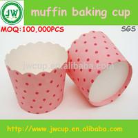 polka dot design muffin cups /muffin cases/homemade muffin cups