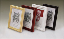 High quality popular wooden photo frame