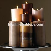 house decoration pillar shape candle manufacture