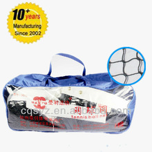 customized 12.8m *1.08m tennis net with knots