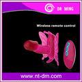inalámbrico de control remoto de la mariposa gigante con vibrador consolador