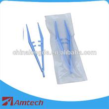2015 best selling dental plastic tweezers
