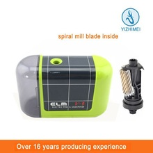 ELM V3 2014 New product trendy stationery automatic pencil sharpener with cover