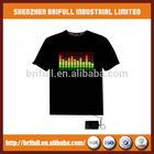 2014 alibaba fashion led light t-shirt China supplier