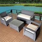 Waterproof Rattan Garden Furniture Sets/ Uvioresistant PE Wicker Sofa Sets