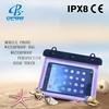 Plastic Waterproof PVC Bag for Camping/Swimming/Floating Tablet Waterproof Bag