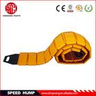 Yellow Plastic Portable Speed Hump