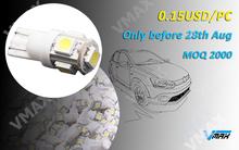 T10 wedge led tuning light 5 5050SMD promotion price USD 0.15 led tuning light