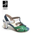neuen stil mode dame aus echtem leder sandalen