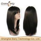Ladies Brazilian Human Hair Wig With Baby Hair Be Customed