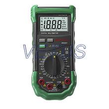 3 1/2 Mastech Digital Multimeter MS8261 AC DC Electrical Capacitance Resistance Transistor Tester Meter