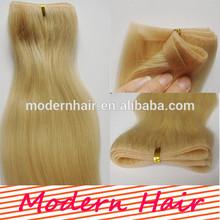 Hot sale European blonde skin weft pu glue virgin tape hair extensions
