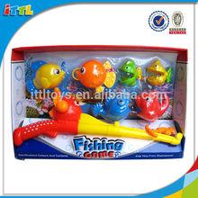 fishing play set happy fish toy kids plastic games